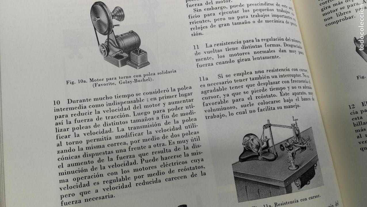 Herramientas de relojes: TRES GRANDES LIBROS DEL RELOJ, RELOJERÍA, DEL ARTE RELOJERO - Foto 57 - 167837412
