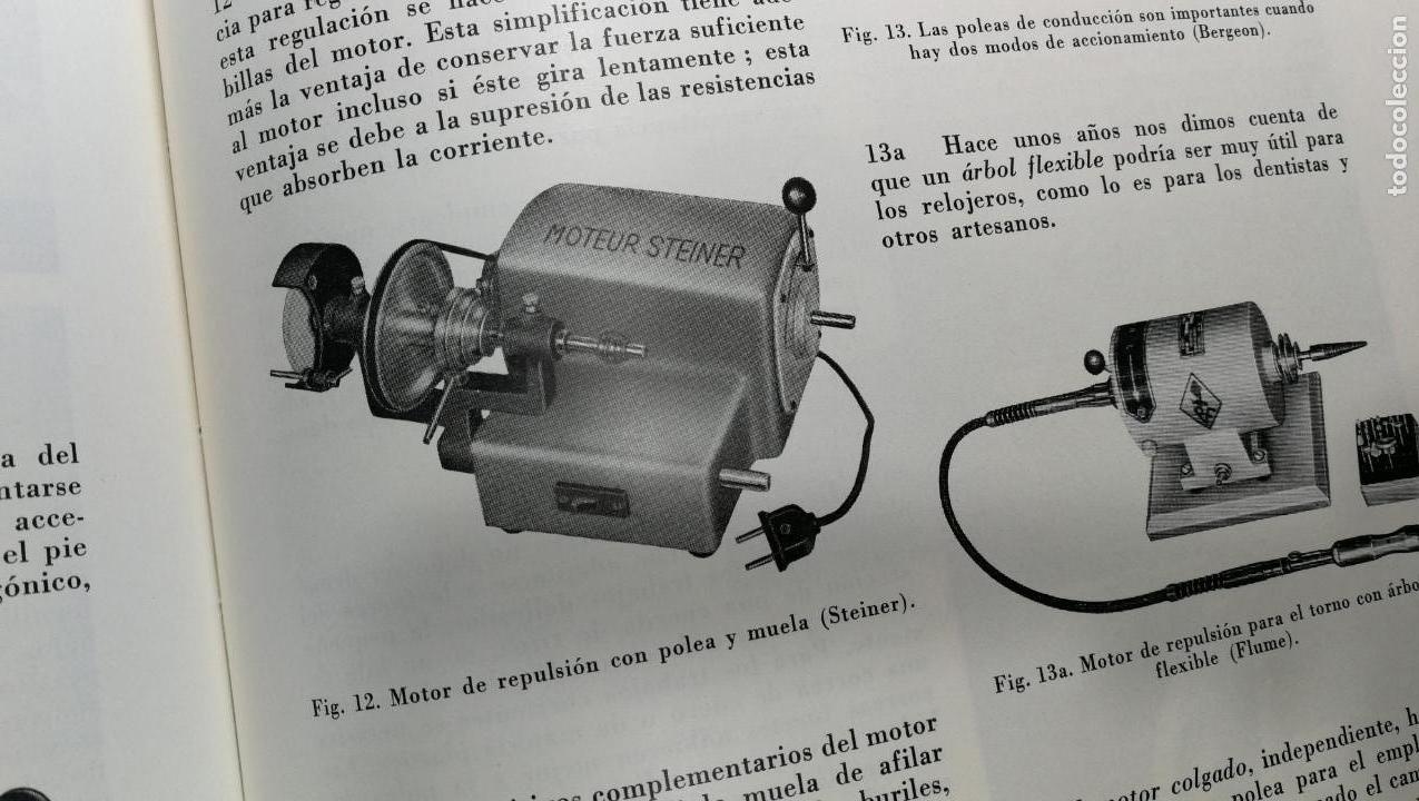Herramientas de relojes: TRES GRANDES LIBROS DEL RELOJ, RELOJERÍA, DEL ARTE RELOJERO - Foto 58 - 167837412