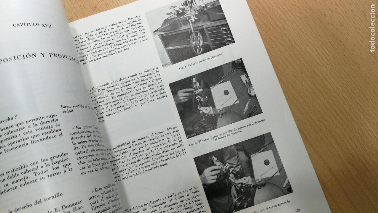 Herramientas de relojes: TRES GRANDES LIBROS DEL RELOJ, RELOJERÍA, DEL ARTE RELOJERO - Foto 59 - 167837412