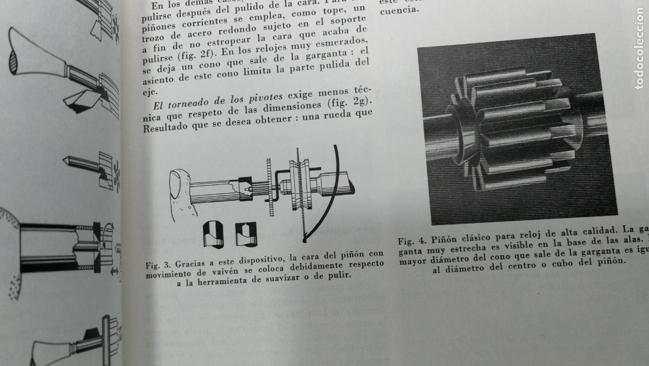 Herramientas de relojes: TRES GRANDES LIBROS DEL RELOJ, RELOJERÍA, DEL ARTE RELOJERO - Foto 60 - 167837412