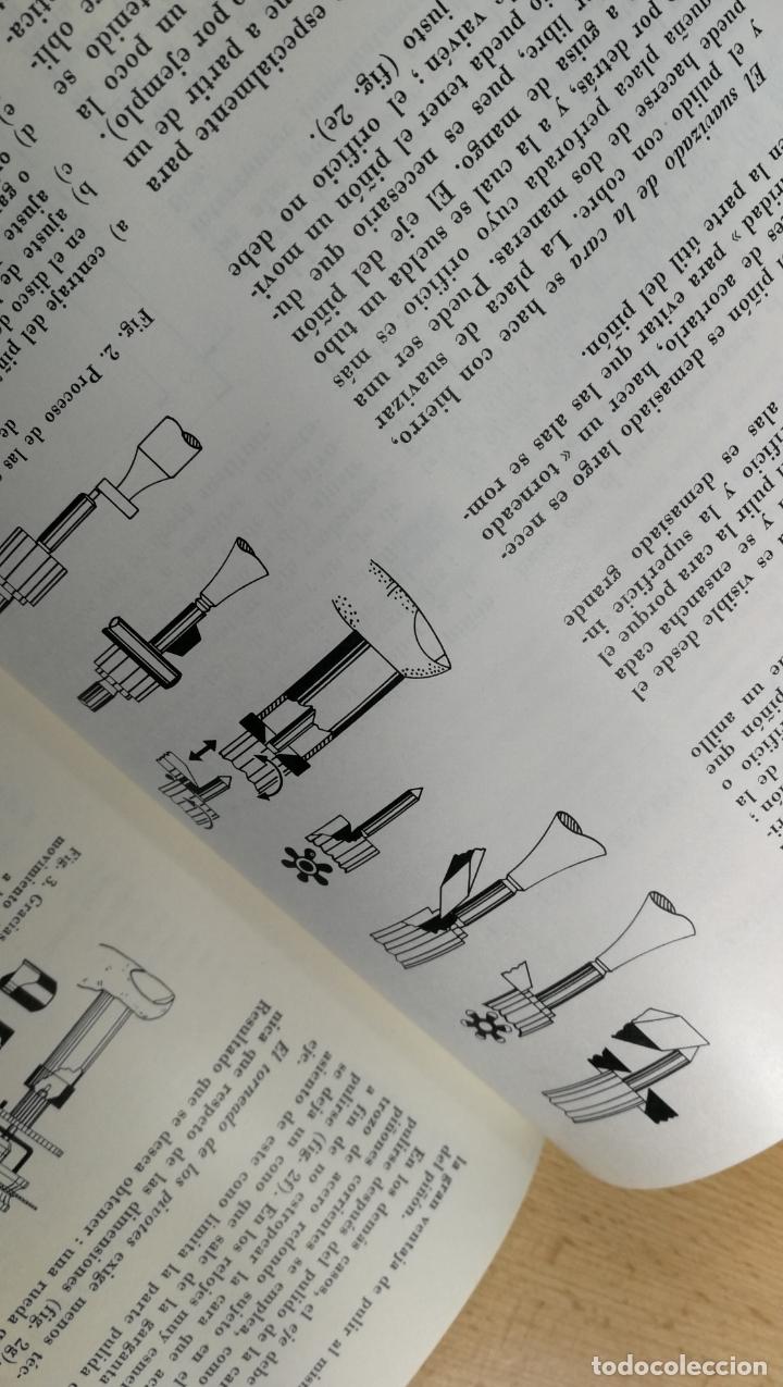 Herramientas de relojes: TRES GRANDES LIBROS DEL RELOJ, RELOJERÍA, DEL ARTE RELOJERO - Foto 61 - 167837412