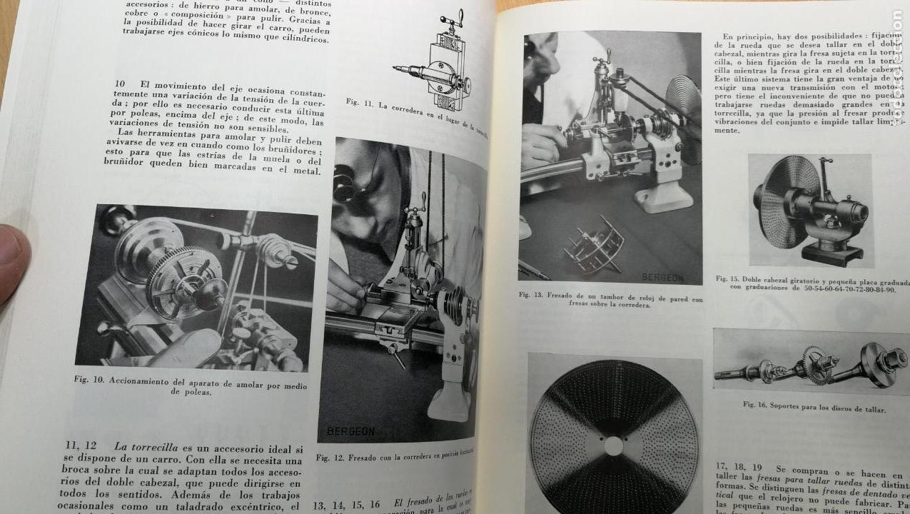 Herramientas de relojes: TRES GRANDES LIBROS DEL RELOJ, RELOJERÍA, DEL ARTE RELOJERO - Foto 66 - 167837412