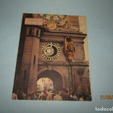 Herramientas de relojes: ANTIGUA REVISTA TRIMESTRAL CUADERNOS DE RELOJERÍA INFORMACIÓN RELOJERIA ALTA CALIDAD - Nº 1 DE 1954. Lote 167920052