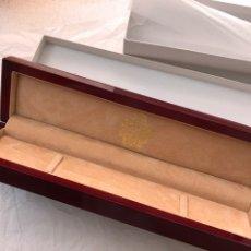 Herramientas de relojes: CAJA ESCUCHE DE MADERA DUWARD NUEVA. Lote 171519589