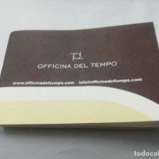 Herramientas de relojes: INSTRUCCIONES DE FUNCIONAMIENTO RELOJ OFFICINA DEL TIEMPO. Lote 171690864