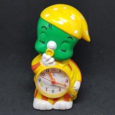 Herramientas de relojes: RELOJ DESPERTADOR INFANTIL - CAR153. Lote 172027117