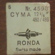 Herramientas de relojes: CYMA 480 / 486 - 3 EJES DE VOLANTE NUEVOS . Lote 175348647