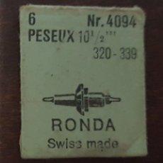 Herramientas de relojes: PESEUX 320-339 1 EJE DE VOLANTE NUEVO. Lote 175350475
