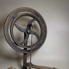 Herramientas de relojes: PEDAL MECANICO PARA ACCIONAMIENTO DE TORNO DE RELOJERO..SIGLO XIX. Lote 176684207