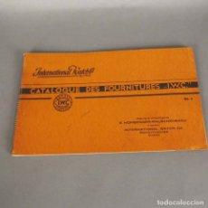 Herramientas de relojes: RARO !! ANTIGUO CATALOGO RELOJES INTERNATIONAL WATCH & CO. IWC SCHAFFHOUSE. 1940 - 1950. Lote 177666754