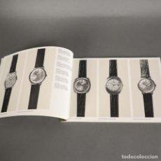 Herramientas de relojes: RARO !! ANTIGUO CATALOGO RELOJES IWC SCHAFFHOUSE. 1950 - 1960. Lote 177667063