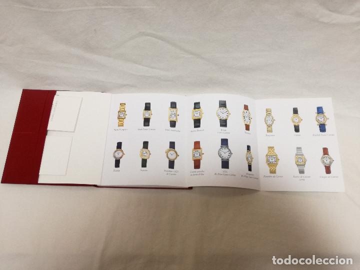 Herramientas de relojes: MANUAL DE INSTRUCCIONES EN ESPAÑOL ENTRE OTROS, CERTIFICADO DE GARANTIA SELLADO 1998 RELOJ CARTIER - Foto 6 - 177774284