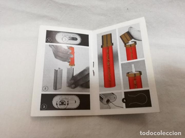 Herramientas de relojes: MANUAL DE INSTRUCCIONES + EXTRACTOR - RELOJ / ENCENDEDOR LES MUST DE CARTIER - Foto 3 - 177774732