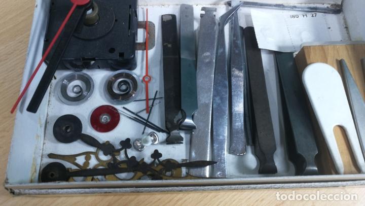 Herramientas de relojes: MAGNIFICO LOTE DE UTENSILIOS LA MAYORÍA RAROS DE RELOJERÍA O RELOJERO - Foto 3 - 180179067