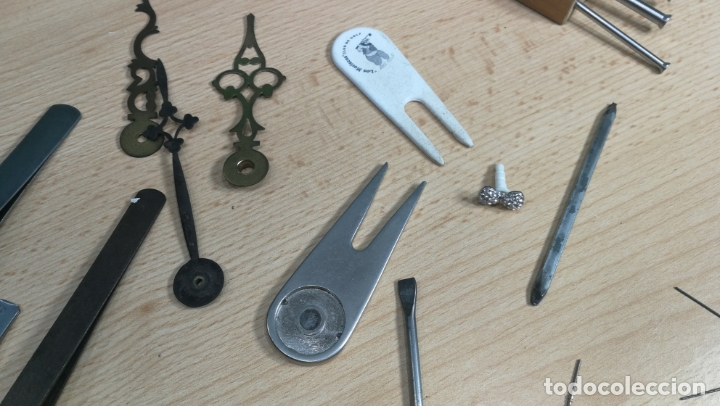Herramientas de relojes: MAGNIFICO LOTE DE UTENSILIOS LA MAYORÍA RAROS DE RELOJERÍA O RELOJERO - Foto 27 - 180179067