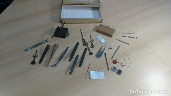 Herramientas de relojes: MAGNIFICO LOTE DE UTENSILIOS LA MAYORÍA RAROS DE RELOJERÍA O RELOJERO - Foto 36 - 180179067