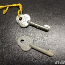 Herramientas de relojes: 2 LLAVES DE RELOJ BGS.. Lote 180238391