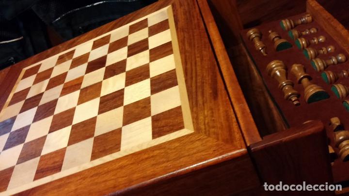Herramientas de relojes: Botita caja con llave para guardar tábaco, relojes, joyas o lo que se quiera, creo que de cedro - Foto 6 - 183865775