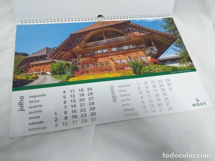 Herramientas de relojes: ROLEX 2016 Wall Calendar - Foto 8 - 184608462