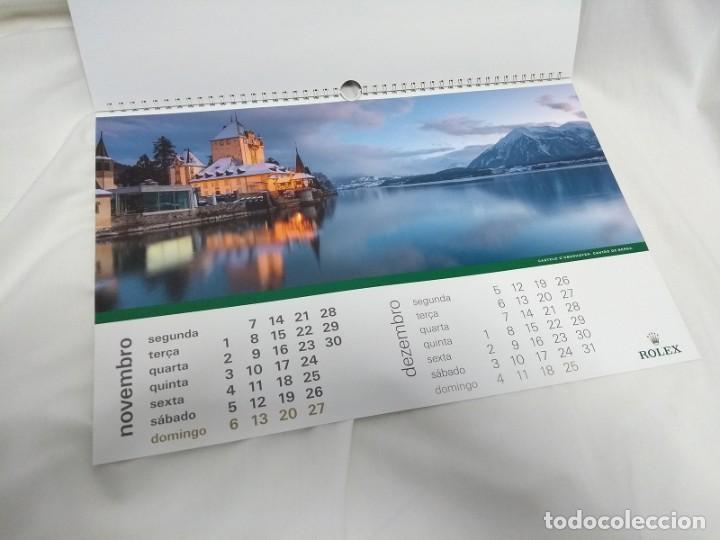 Herramientas de relojes: ROLEX 2016 Wall Calendar - Foto 12 - 184608462