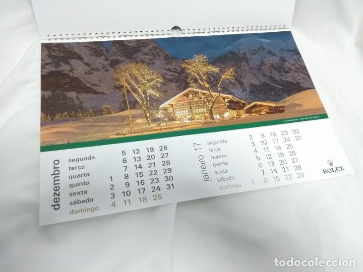 Herramientas de relojes: ROLEX 2016 Wall Calendar - Foto 13 - 184608462