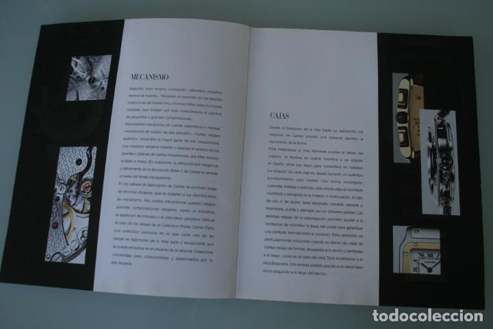 Herramientas de relojes: LUJOSO CATALOGO RELOJES CARTIER: TANK PANTHERE BAIGNORE TORTUE ROADSTER PASHA - 92 PAGINAS - Foto 3 - 185715583
