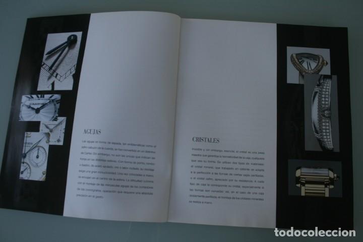 Herramientas de relojes: LUJOSO CATALOGO RELOJES CARTIER: TANK PANTHERE BAIGNORE TORTUE ROADSTER PASHA - 92 PAGINAS - Foto 4 - 185715583