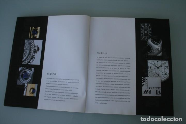 Herramientas de relojes: LUJOSO CATALOGO RELOJES CARTIER: TANK PANTHERE BAIGNORE TORTUE ROADSTER PASHA - 92 PAGINAS - Foto 5 - 185715583