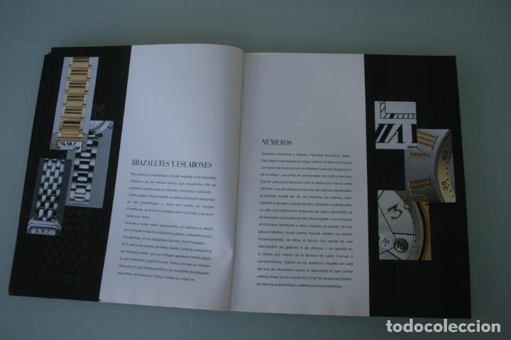 Herramientas de relojes: LUJOSO CATALOGO RELOJES CARTIER: TANK PANTHERE BAIGNORE TORTUE ROADSTER PASHA - 92 PAGINAS - Foto 6 - 185715583