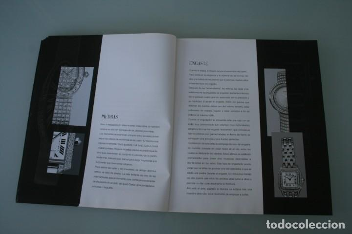 Herramientas de relojes: LUJOSO CATALOGO RELOJES CARTIER: TANK PANTHERE BAIGNORE TORTUE ROADSTER PASHA - 92 PAGINAS - Foto 7 - 185715583