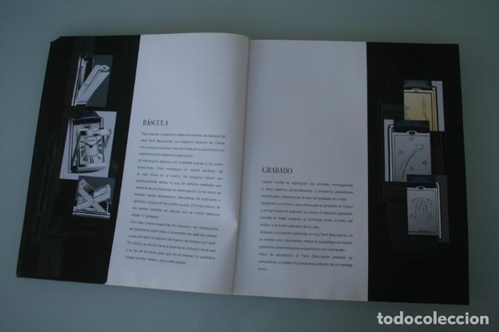Herramientas de relojes: LUJOSO CATALOGO RELOJES CARTIER: TANK PANTHERE BAIGNORE TORTUE ROADSTER PASHA - 92 PAGINAS - Foto 8 - 185715583