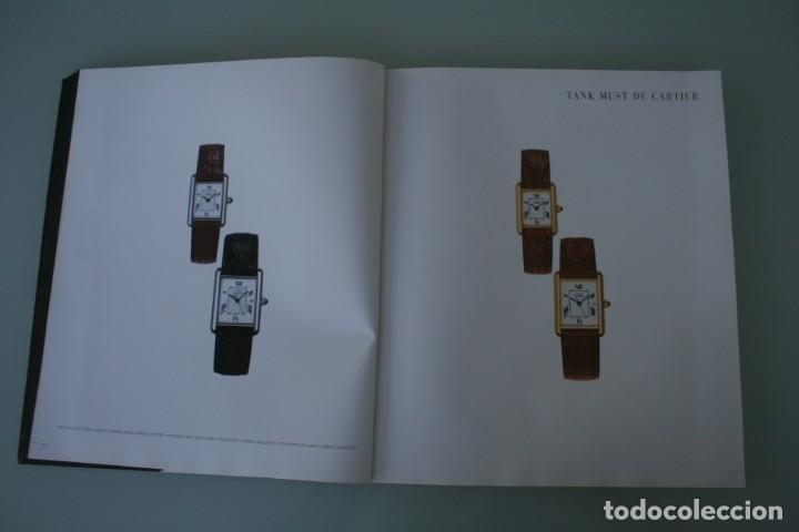 Herramientas de relojes: LUJOSO CATALOGO RELOJES CARTIER: TANK PANTHERE BAIGNORE TORTUE ROADSTER PASHA - 92 PAGINAS - Foto 9 - 185715583