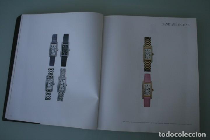 Herramientas de relojes: LUJOSO CATALOGO RELOJES CARTIER: TANK PANTHERE BAIGNORE TORTUE ROADSTER PASHA - 92 PAGINAS - Foto 10 - 185715583