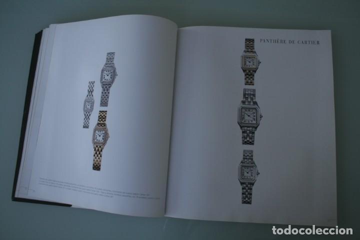 Herramientas de relojes: LUJOSO CATALOGO RELOJES CARTIER: TANK PANTHERE BAIGNORE TORTUE ROADSTER PASHA - 92 PAGINAS - Foto 12 - 185715583