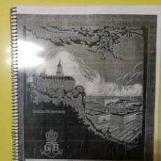 Herramientas de relojes: APUNTES DE CATÁLOGO GUSTAV BECKER 1924 140PAG.. Lote 186434442