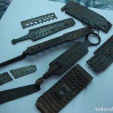 Herramientas de relojes: LOTE DE TERRAJAS. Lote 191262570