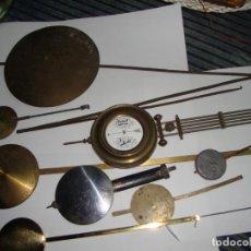 Herramientas de relojes: LOTE DE PENDULOS. Lote 191830915