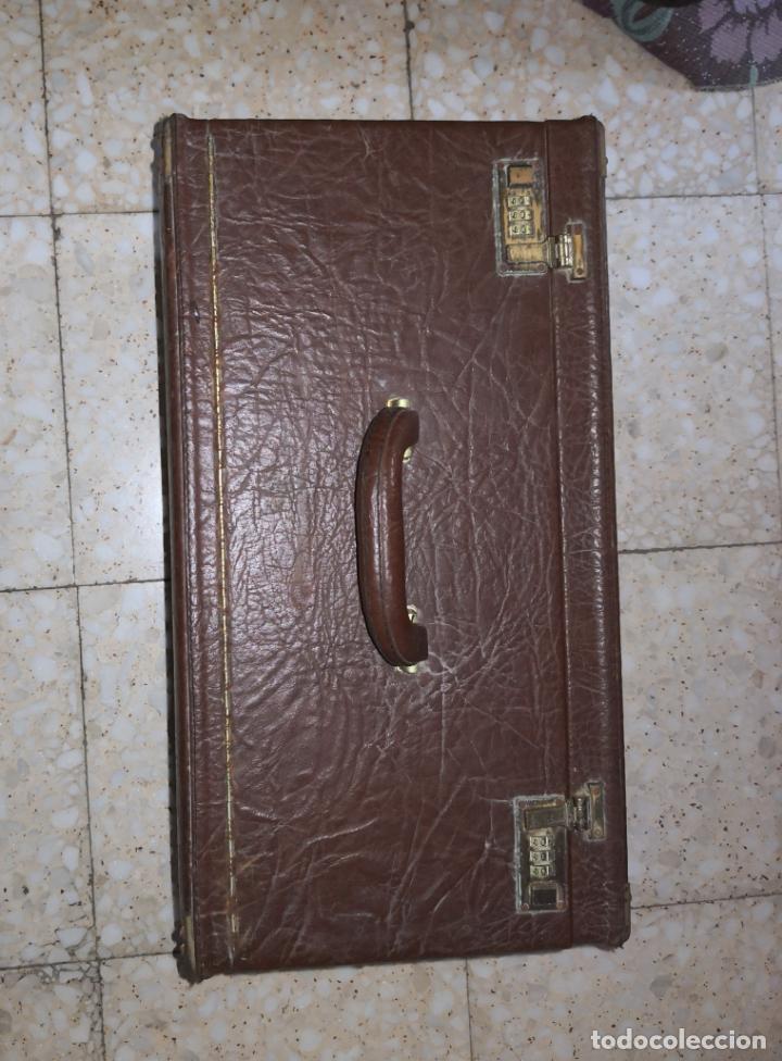 Herramientas de relojes: ANTIGUA MALETA DE REPRESENTANTE DE RELOJES Y JOYERIA. - Foto 6 - 194204813