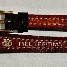 Herramientas de relojes: CORREA DE CUERO PARA RELOJES . 165 X 12 M/M.. Lote 194316518