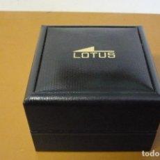 Herramientas de relojes: CAJA VACIA LOTUS. Lote 194406360