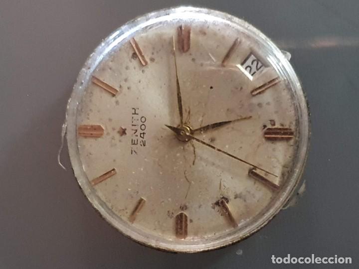 MAQUINARIA ZENITH 2400 (Relojes - Herramientas y Útiles de Relojero )