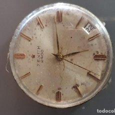 Herramientas de relojes: MAQUINARIA ZENITH 2400 . Lote 196165377