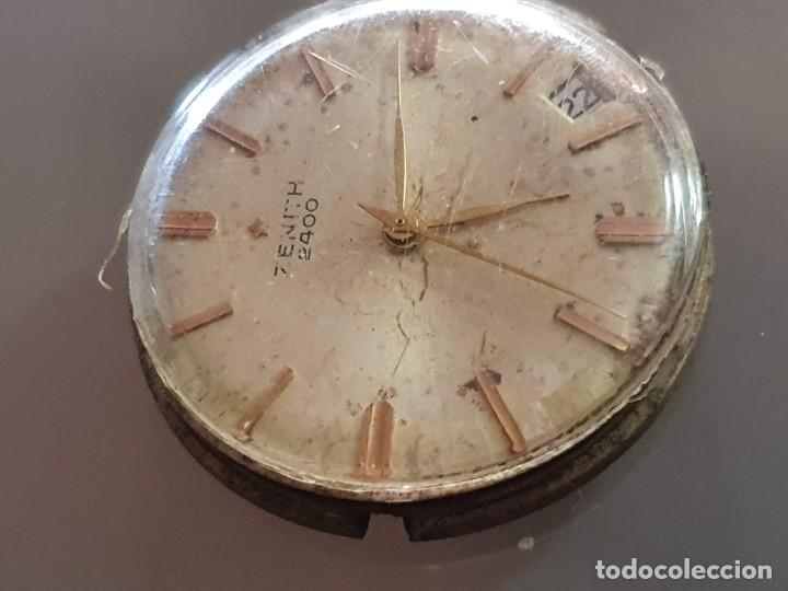 Herramientas de relojes: MAQUINARIA ZENITH 2400 - Foto 2 - 196165377