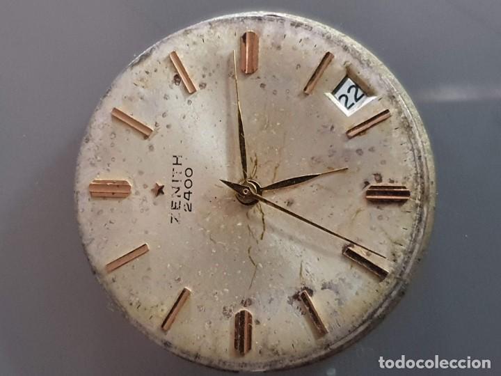Herramientas de relojes: MAQUINARIA ZENITH 2400 - Foto 3 - 196165377