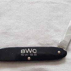 Outils d'horloger: 122-NAVAJA RELOJERO (BWC-SWISS)- WENGER DELEMONT-SWITZERLAND-STAINLESS. Lote 196284368