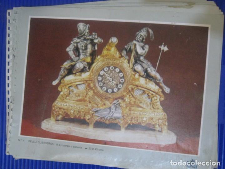 CATALOGO BLOCK PUBLICIDAD DE BRONCES ANDRIA . VALENCIA . RELOJ PIE LAMPARA FIGURAS CENTROS (Relojes - Herramientas y Útiles de Relojero )
