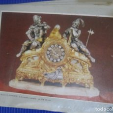 Herramientas de relojes: CATALOGO BLOCK PUBLICIDAD DE BRONCES ANDRIA . VALENCIA . RELOJ PIE LAMPARA FIGURAS CENTROS . Lote 197305120