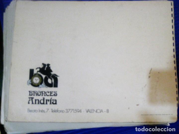 Herramientas de relojes: catalogo block publicidad de bronces andria . valencia . reloj pie lampara figuras centros - Foto 2 - 197305120