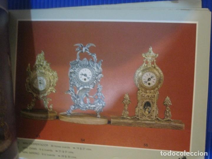 Herramientas de relojes: catalogo block publicidad de bronces andria . valencia . reloj pie lampara figuras centros - Foto 5 - 197305120