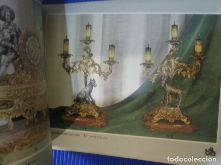Herramientas de relojes: catalogo block publicidad de bronces andria . valencia . reloj pie lampara figuras centros - Foto 7 - 197305120